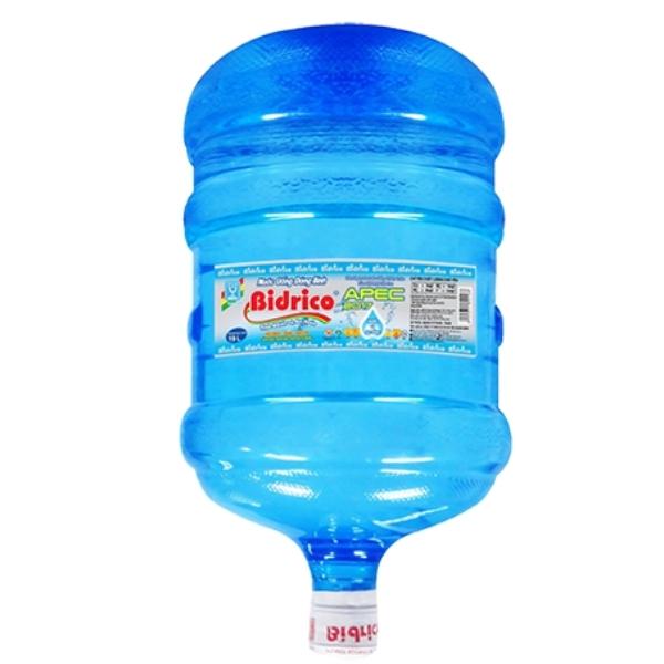 Nước tinh khiết Bidrico 20L bình úp