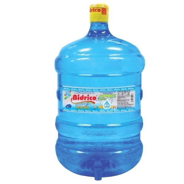 Nước tinh khiết Bidrico 20L bình vòi