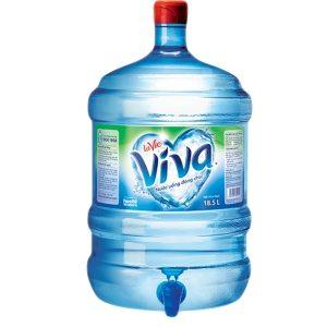 đại lý nước tinh khiết lavie viva 18.5l nhận giao tại nhà
