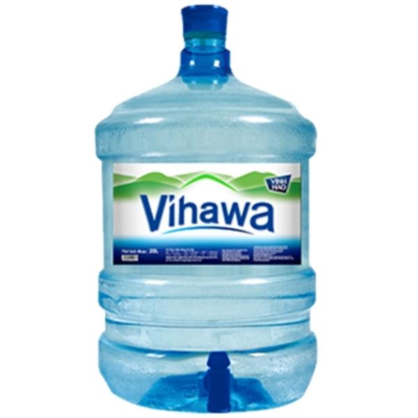 Nước tinh khiết Vihawa 20L bình vòi