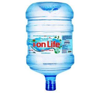Nước uống Ion life 19L bình úp