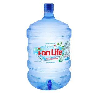 Nước uống Ion life 19L bình vòi