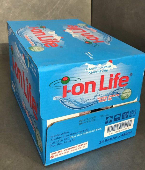 Nước uống ion life 450ml thùng
